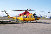 146493 @ CYYC - Canadian Air Force Bell 412