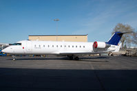 C-FMUR @ CYYC - ex Lufthansa Canadair Regionaljet - by Yakfreak - VAP