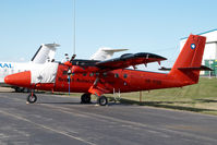 VP-FBB @ CYYC - British Antarctic Survey Dash 6 Twin Otter