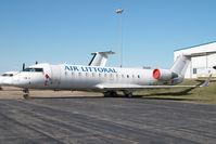F-GPYP @ CYYC - Air Littoral Canadair Regionaljet
