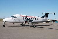 C-GCML @ CYYC - Central Mountain Air Beech 1900D