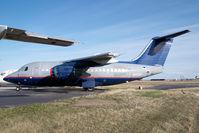 N463AP @ CYYC - ex United Express Bae 146-100