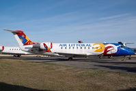 UNKNOWN @ CYYC - ex Air Littoral Regionaljet