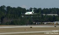 C-GJZL @ RDU - Air Canada dropping in to Raleigh for the morning flight - by Paul Perry