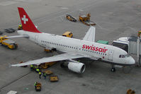HB-IPX @ VIE - Swissair Airbus 319