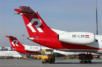 OE-LSR @ VIE - Rheintalflug Embraer 145