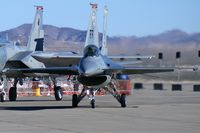 88-0492 @ KLSV - Lockheed Martin / USAF / F-16C Fighting Falcon (cn 1C-94) / Aviation Nation 2006 - by Brad Campbell
