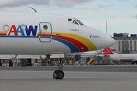 UN-65619 @ VIE - Atyrau Airways Tupolev 134