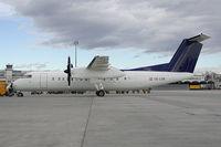 OE-LSB @ VIE - Rheinalflug Dash 8-300 in Basic Team Lufthansa colros