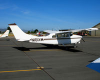 N101VW @ PRB - Livestock Service (Columbus, NM) 1966 Cessna T210G visiting @ Paso Robles, CA - by Steve Nation
