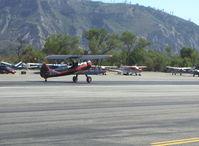 N59031 @ SZP - 1941 Boeing Stearman A75N1, Continental W670 220 Hp, takeoff roll Rwy 22 - by Doug Robertson
