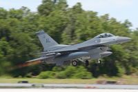 88-0399 @ LAL - F-16 - by Florida Metal