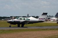 N29AR @ LAL - Beech 95-55 - by Florida Metal