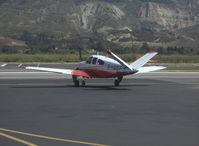 N1160T @ SZP - 1976 Beech V35B BONANZA, Continental IO-520-B 285 Hp, engine start - by Doug Robertson