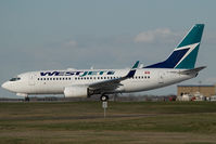 C-GWSH @ CYYC - Westjet Boeing 737-700