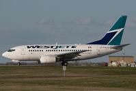 C-GWCT @ CYYC - Westjet Boeing 737-600