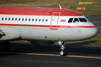 OE-LTU @ DUS - Taxiing to the runway - by Micha Lueck