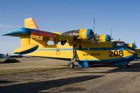 C-FTUW @ YQF - Air Spray CL-215 - by Andy Graf-VAP