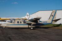 C-GZON @ CYQF - Air Spray Rockwell Commander - by Yakfreak - VAP
