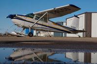 C-FLCO @ CYQF - Cessna 180 - by Yakfreak - VAP