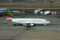 9J-JCN @ JNB - Zambian Airways Boeing 737 at JNB - by Pete Hughes