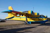 C-FTUW @ CYQF - Canadair CL215 Air Spray - by Yakfreak - VAP