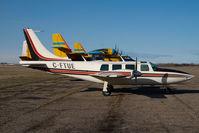 C-FTUE @ CYQF - Piper Aerostar Air Spray - by Yakfreak - VAP