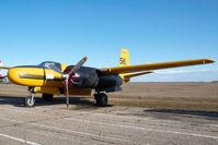 C-FOVC @ CYQF - Air Spray Douglas A26 - by Yakfreak - VAP