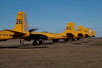 C-GPTW @ CYQF - Air Spray Lockheed Electra - by Yakfreak - VAP
