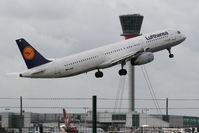 D-AISF @ LHR - Airbus A321-231