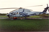 F-GDHU @ LFPN - With the logo of Heli-Union - by Patrick MATHIEU