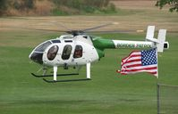 N602BP - Border Patrol 600N taking off from American Heroes AiR Show at Hansen Dam