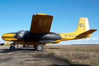 C-FZTC @ CYQF - Air Spray Douglas A26 - by Yakfreak - VAP
