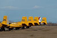 C-GPTW @ CYQF - Air Spray Douglas A26 - by Yakfreak - VAP