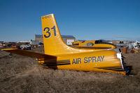 C-GHCC @ CYQF - Air Spray Douglas A26 - by Yakfreak - VAP