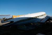 CF-VQV @ CYQF - Douglas DC3 - by Yakfreak - VAP