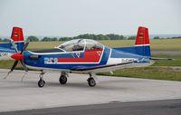 D-FHMT @ ZQW - Pilatus PC-9B - by Volker Hilpert