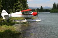 C-GZEA - docked at Thomas River - by K.W.