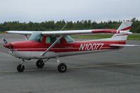 N10077 - Cessna N1007 at Bellingham, WA (KBLI) - by Jeffrey A. Lustick