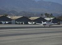 N110AM @ SZP - 1996 Moravan Zlin Z242L fully aerobatic, Lycoming AEIO-360-B 200 Hp, landing roll Rwy 22 - by Doug Robertson