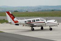D-GBWA @ ZQW - Piper PA-34-200T Seneca II - by Volker Hilpert