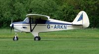 G-ARKN @ EGBD - Piper-22-108