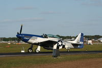 N851D @ LAL - P-51 - by Florida Metal