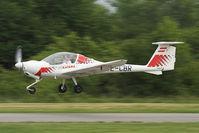 OE-CBR @ LOAU - Low flyby.