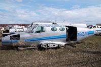 N968JW @ CZVL - Cessna 401