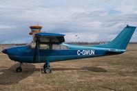 C-GWUN @ CZVL - Cessna 182