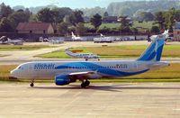 EC-ICU @ LSGG - Airbus A320