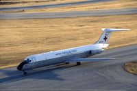 68-8934 @ CID - C-9A taxiing in by the control tower - by Glenn E. Chatfield