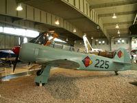 225 - Yakovlev Yak-11/Preserved/Berlin-Gatow - by Ian Woodcock