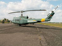 D-HATE - UH-1D/Preserved/Berlin-Gatow - by Ian Woodcock